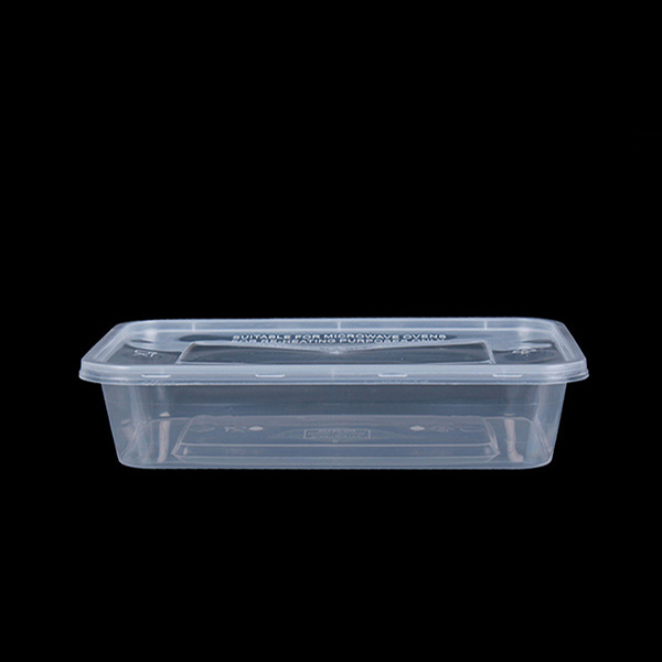 500ml PP Plastic Rectangle Box