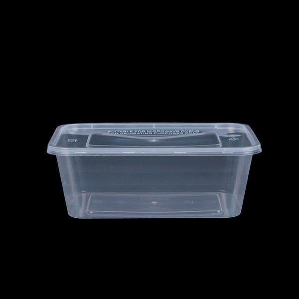 1000ml PP Plastic Rectangle Box