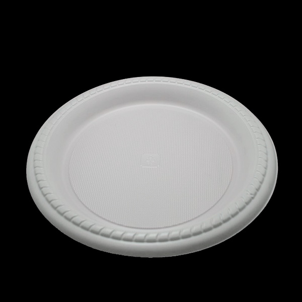 Customized 10'' Round Plastic Plate